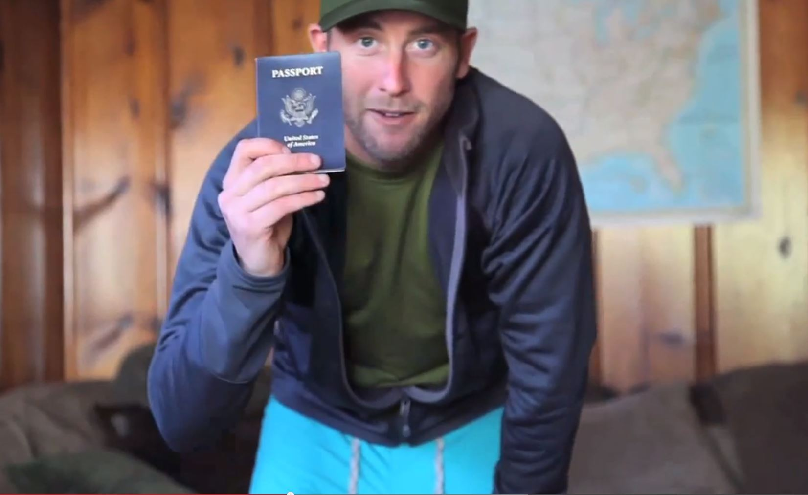 Rob Greenfield with Passport