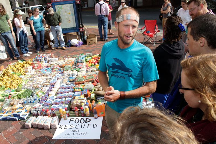 Rob Greenfield Food Rescued