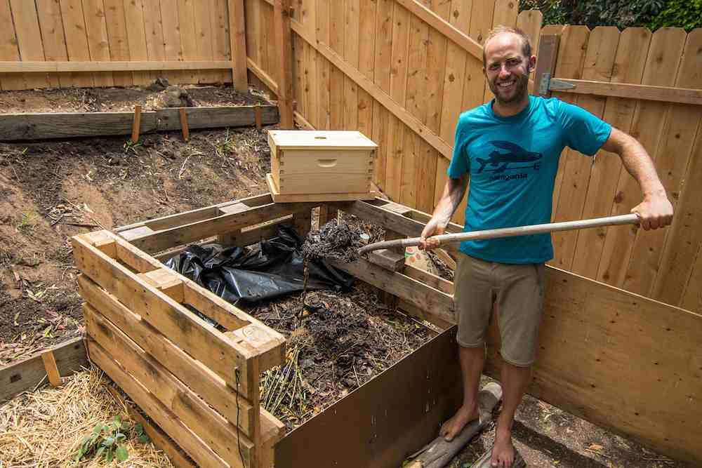 Composting Rob Greenfield