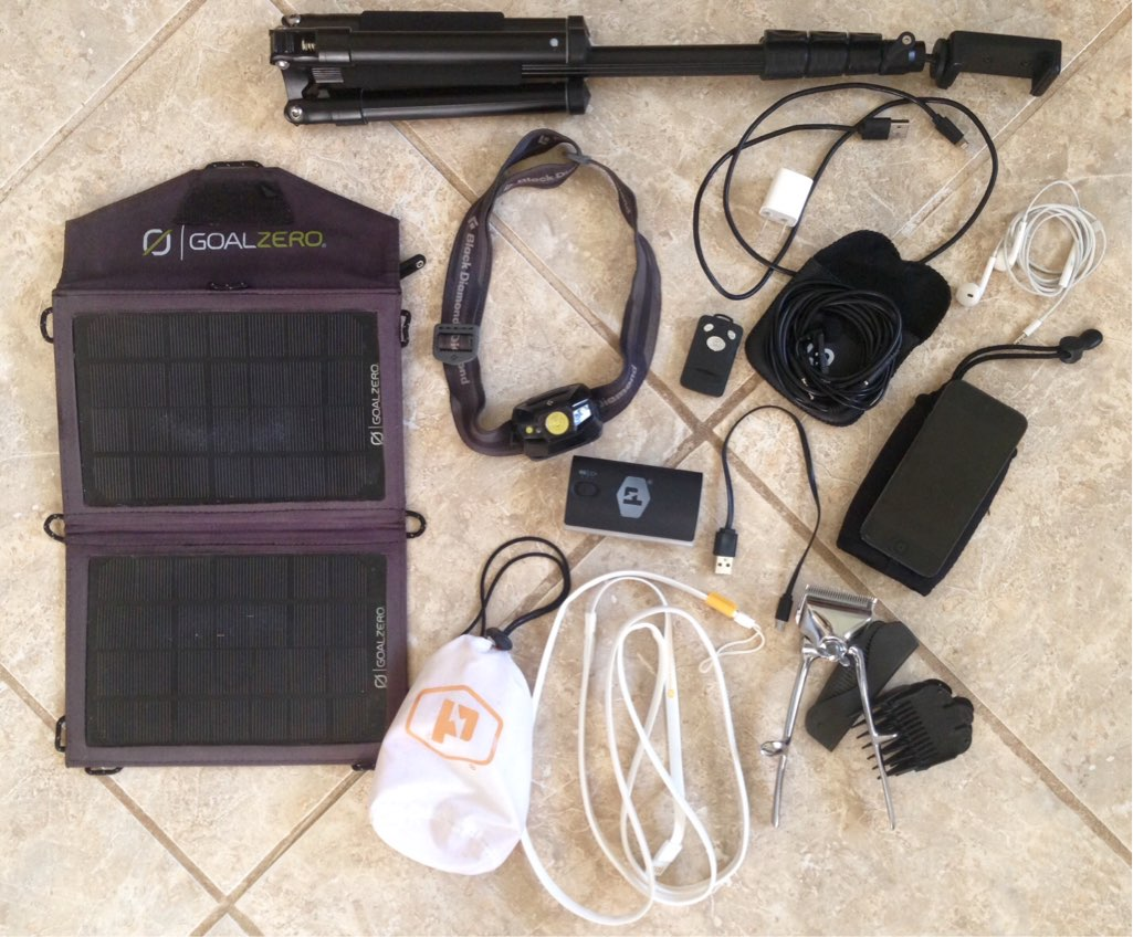 My 111 Possessions- off the grid electronics