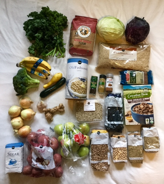 Eating Healthy on $4 per day grocery purchase 2