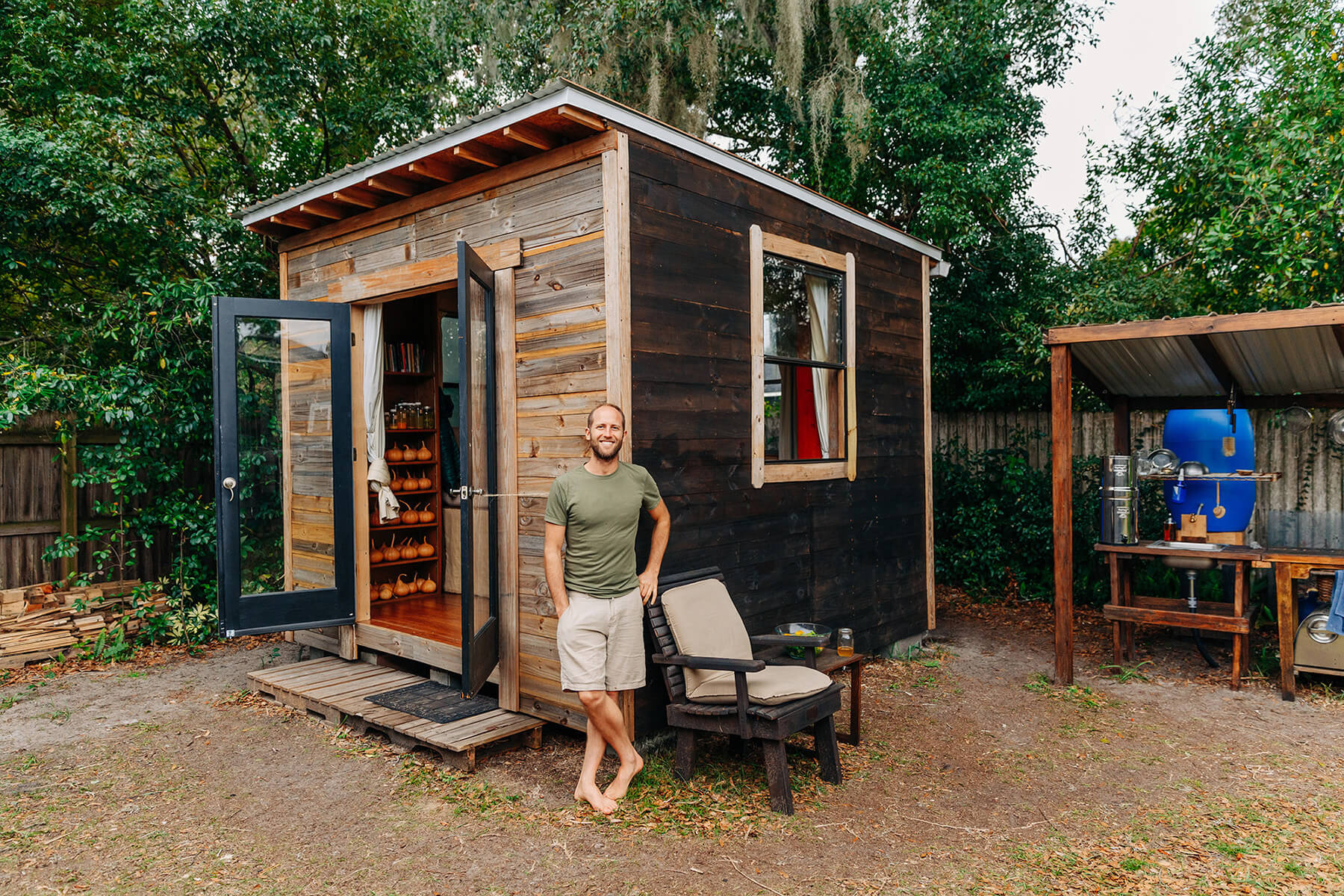 Rob Greenfield Tiny House