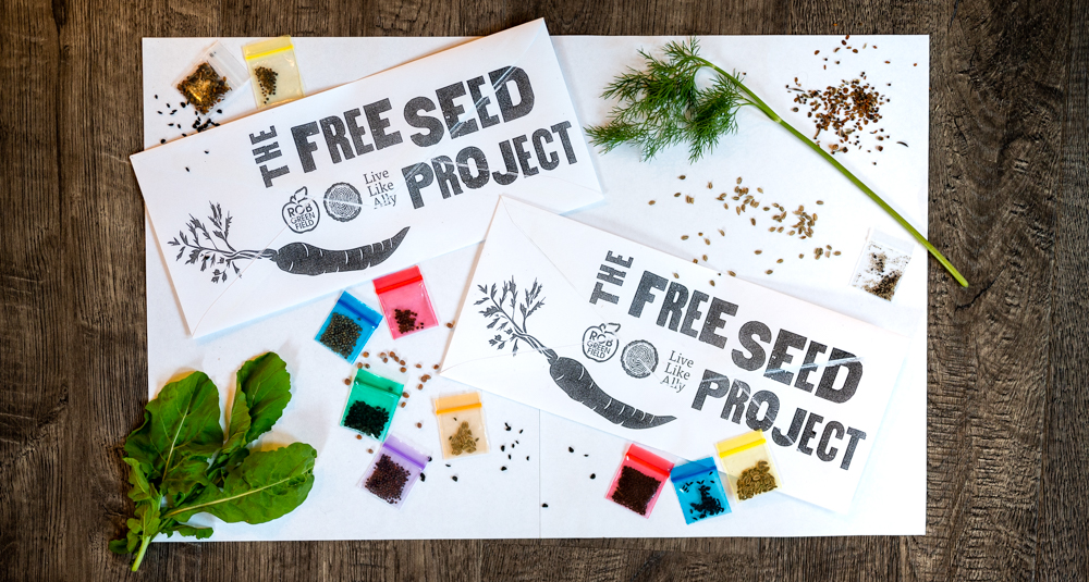 Get Your Free Seeds from The Free Seed Project!