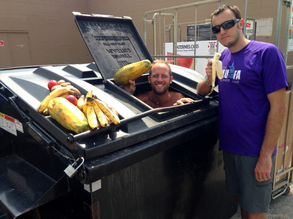 Dumpster Diving Across Wisconsin with Rob Greenfield 1