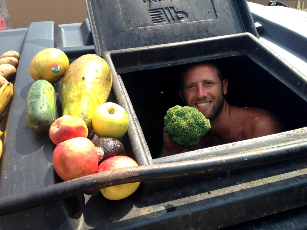 Dumpster Diving Across Wisconsin with Rob Greenfield2