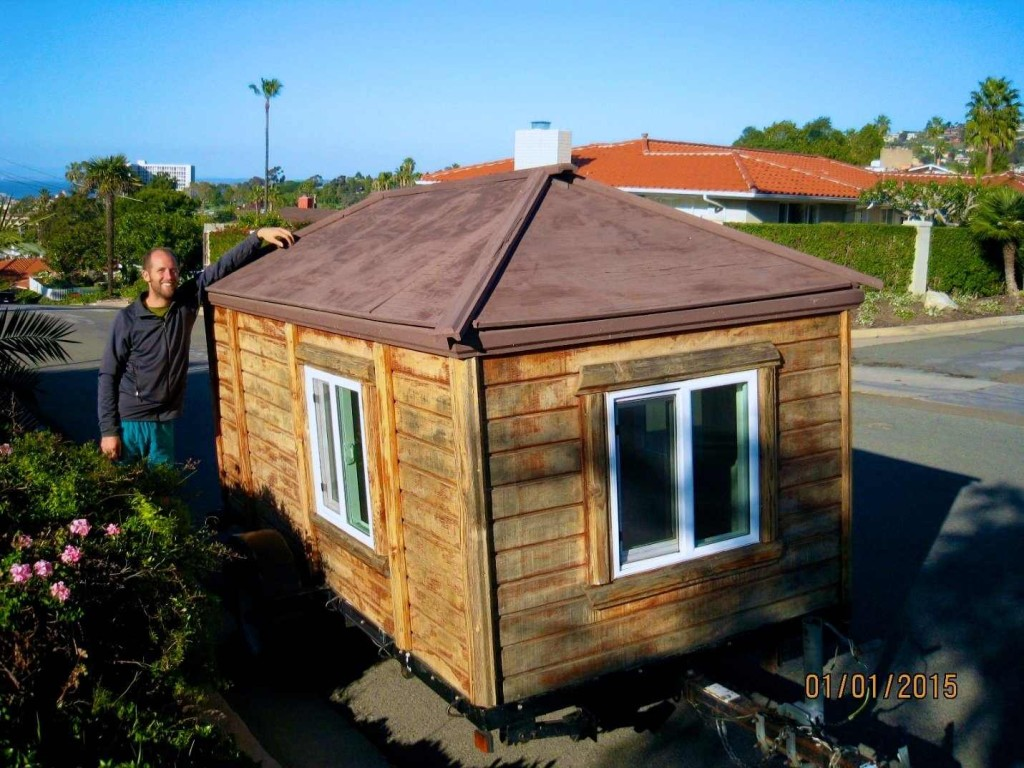 I'm a tiny home owner and it's really really tiny 2