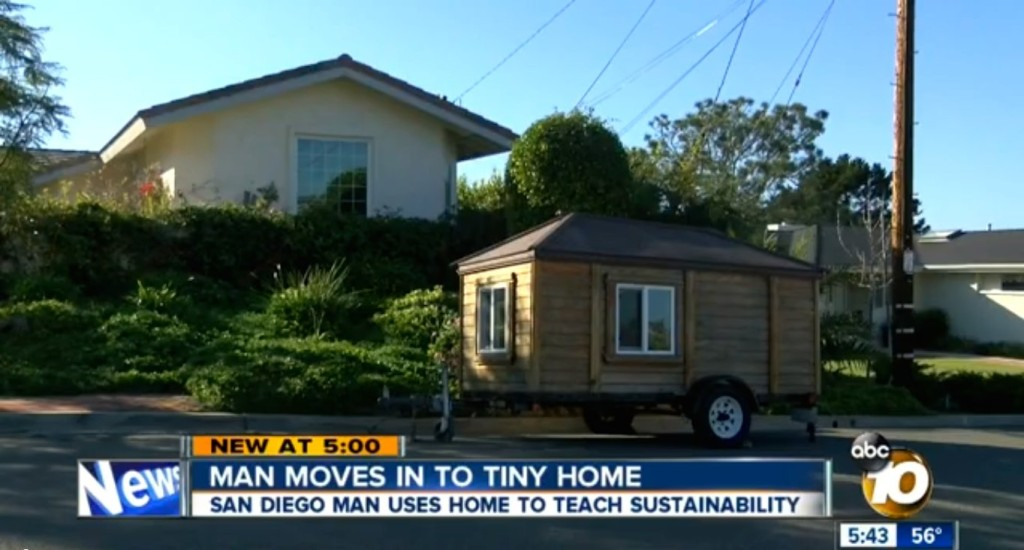 My TIny Home is in the News and I haven't even moved in yet 5